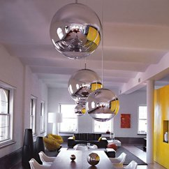 Grey And White Living Room Paint Ideas Leather Sets Silver Spheres In A Kitchen - Interiors By Color