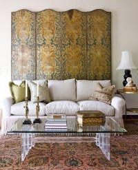 Pastel Blues, Gold and Greens - Traditional Home Tour ...