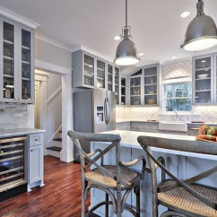Shaker Kitchen Island Commercial Equipment Prices 12 Beautiful Gray Cabinets - Interiors By Color