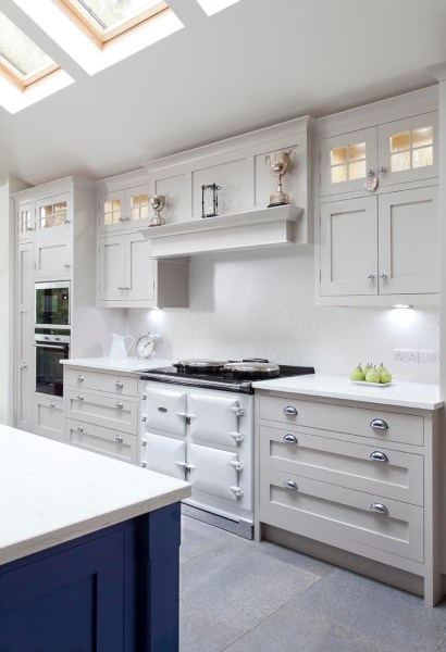 farrow and ball kitchen cabinet colors Farrow & Ball Elephant's Breath - Interiors By Color