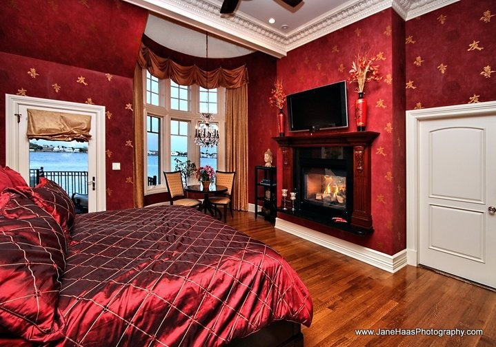 Master Bedrooms in Rich Red Hues  Interiors By Color
