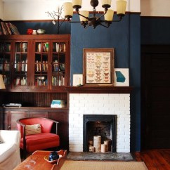 Living Room Paint Colour Ideas 2016 Modern Apartment Decor Interiors Painted In Benjamin Moore Deep Royal Blue