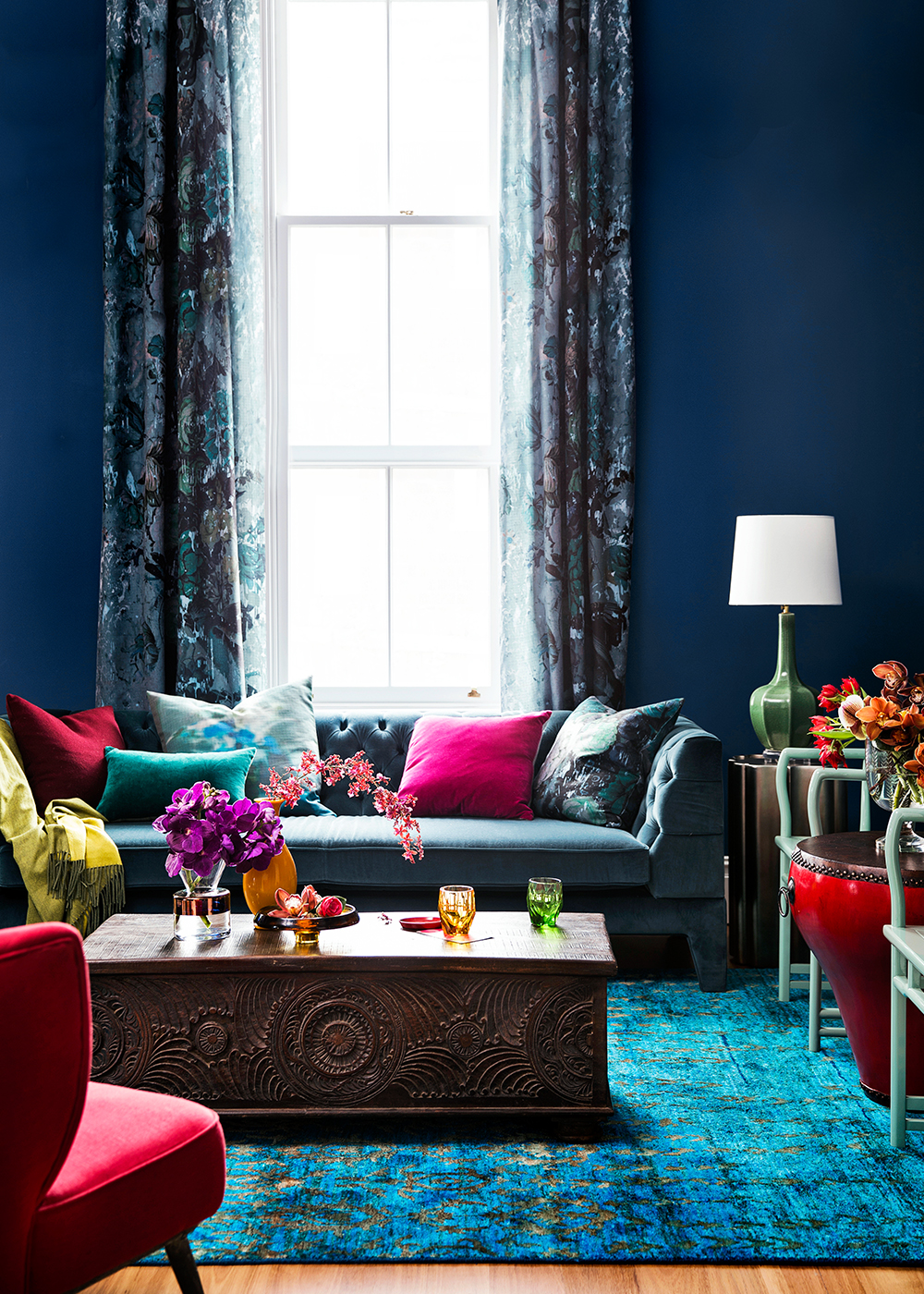 Dulux Passionate Blue  Interiors By Color