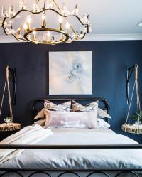 Benjamin Moore Hale Navy Bedroom Paint - Interiors By Color