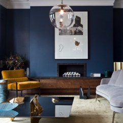 Light Color Living Room Design Entire Furniture Sets 9 Interior Decor Rooms In Moody Blue - Interiors By ...