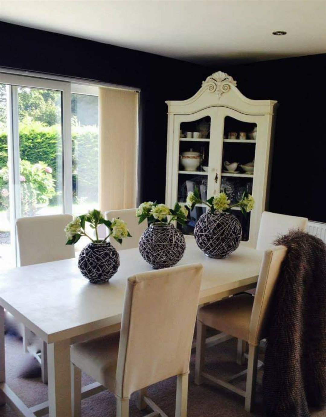 living room color schemes with black furniture formal farrow and ball pitch 256 - interiors by