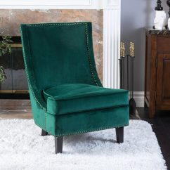 Green Velvet Tufted Chair Car Seat Office Emerald Sofa Interior Design Trend 2017 Interiors By Color