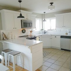 How To Redo Kitchen Cabinets On A Budget Best Radio Sherwin Williams Intellectual Gray - Interiors By ...