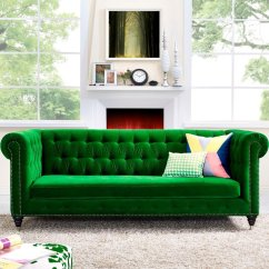 Sofa Bed Green Velvet Restaurant Design Emerald Interior Trend 2017 Interiors By Color