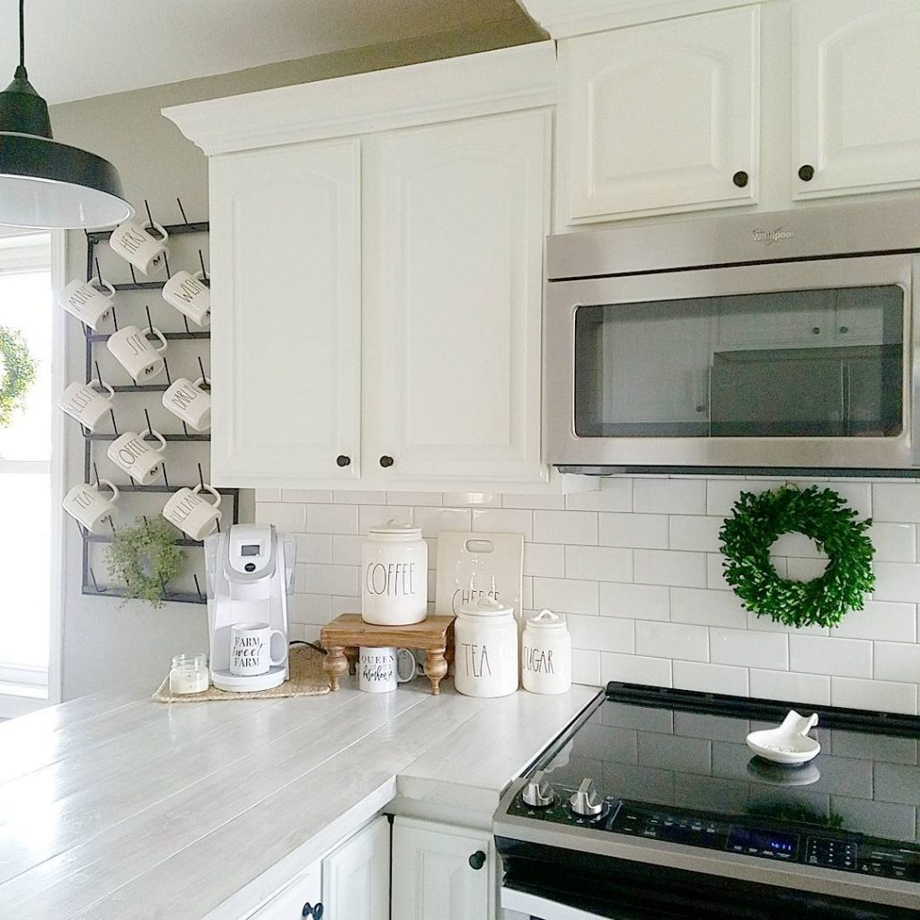 shabby chic kitchen cabinets island for sale sherwin williams intellectual gray - interiors by ...