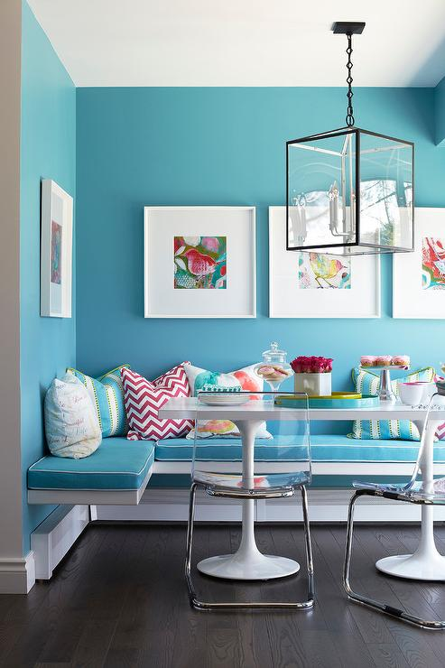kitchen walls modern design benjamin moore teal paint colors - interiors by color