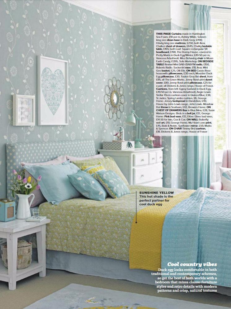Bedroom Colour Combination