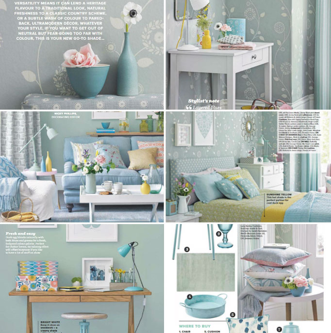 Decorating With Duck Egg And Color Schemes That Work