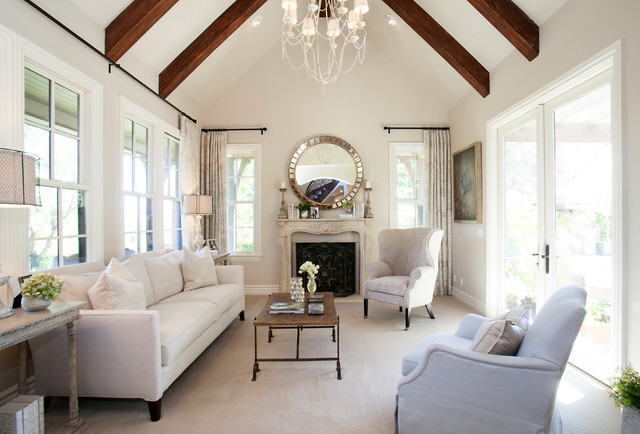 living room colour ideas 2017 carpets uk benjamin moore elmira white - interiors by color (4 ...