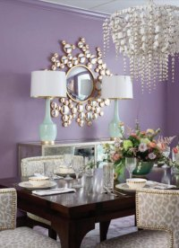 Benjamin Moore Amorous Dining Room Walls - Interiors By Color