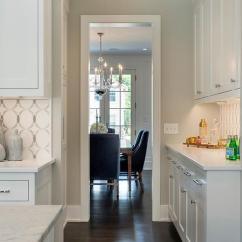 White Kitchen Cabinets Ideas Island Back Panel Benjamin Moore Gray Owl Paint Color - Interiors By