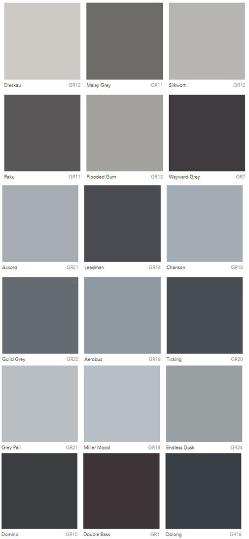living room colour schemes with grey sofa corner table decoration ideas charts dulux australia - interiors by color