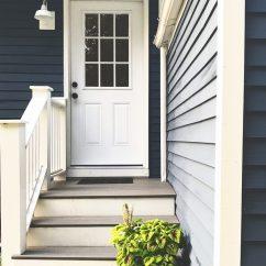 Gray Paint Colors For Living Room Decorating Ideas Walls In Benjamin Moore Van Deusen Blue - Navy Color Schemes ...