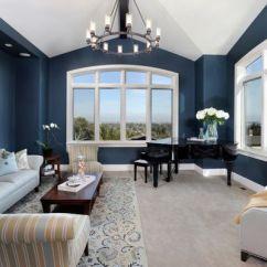 Living Room Color Schemes With Navy Blue Rattan Benjamin Moore Van Deusen - Paint ...