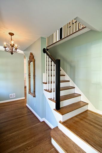 Benjamin Moore Wythe Blue Paint Color Ideas  Interiors By Color