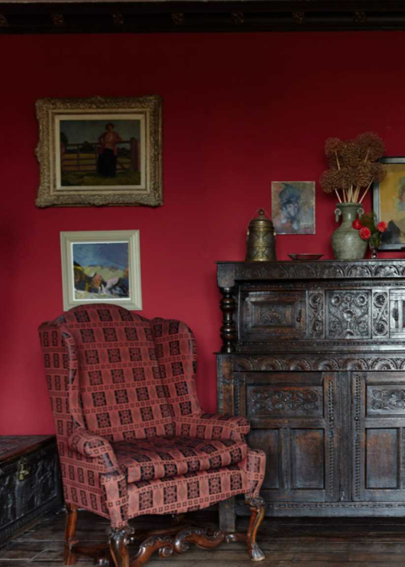 pictures for traditional living rooms modern decorating room farrow & ball rectory red paint color schemes - interiors ...