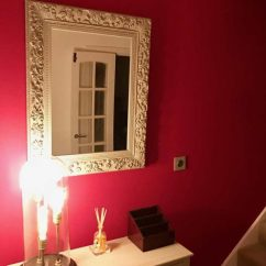 Warm Color Schemes For Living Rooms Paula Deen Home Room Furniture Farrow & Ball Rectory Red Paint - Interiors ...