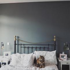 Gray Cabinets Kitchen Measuring Tools Farrow And Ball Downpipe Bedroom Walls - Interiors By Color