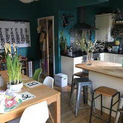 Living Room Decor Blue Walls Bookcases For Farrow & Ball Vardo - Interiors By Color