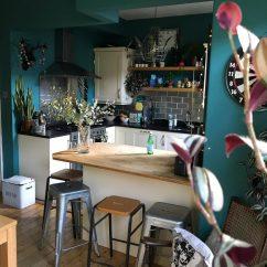 Blue Walls Living Room Decorating Ideas Color Schemes Farrow & Ball Vardo - Interiors By