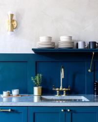Sherwin Williams Seaworthy Paint Color - Interiors By Color