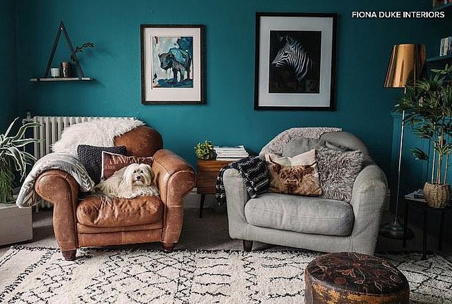 Farrow  Ball Vardo  Interiors By Color