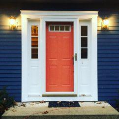 Orange Living Room Walls Tv Stand Benjamin Moore Van Deusen Blue - Navy Paint Color Schemes ...