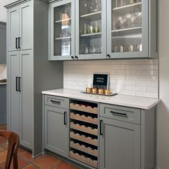 Gray Kitchen Cabinets Heavy Duty Chairs Farrow & Ball Pigeon - Interiors By Color