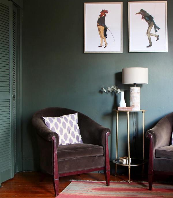 Benjamin Moore Vintage Vogue - Interiors Color