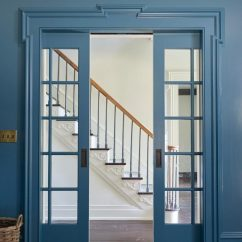 Colors To Paint Kitchen Cabinets Personalized Signs Benjamin Moore Bella Blue - Interiors By Color