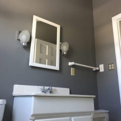 Paint Kitchen Cabinets White Out Door Kitchens Benjamin Moore Chelsea Gray Color Schemes ...