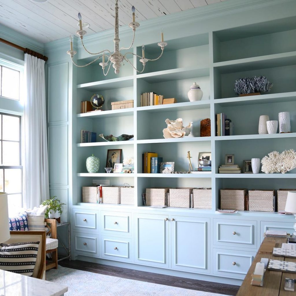 Light Blue Walls Interiors By Color 15 Interior