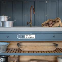 Kitchen Island Pendant Traditional Faucets Sherwin Williams Bracing Blue Paint Color Schemes ...