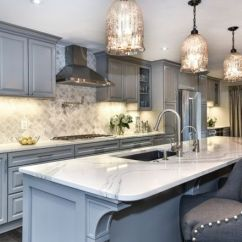Youngstown Kitchen Cabinets Aristokraft Traditional In Pebble Gray - Interiors By Color