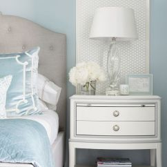 Wallpaper For Kitchen Walls Faucet With Handspray Benjamin Moore Brittany Blue Bedroom - Interiors By Color