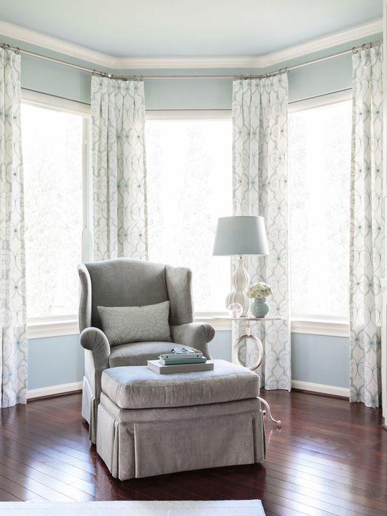 Benjamin Moore Brittany Blue Bedroom Interiors By Color