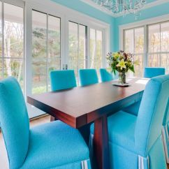 Colors To Paint Kitchen Cabinets Lights Fixtures Benjamin Moore Spectra Blue Painted ...