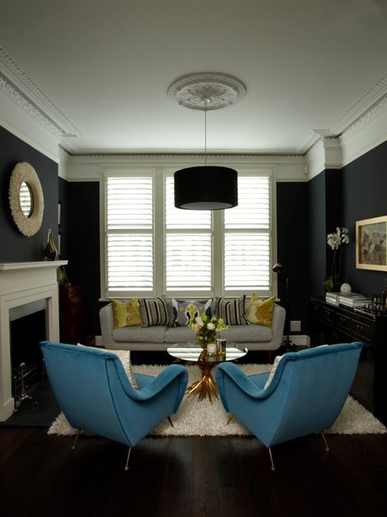 Farrow  Ball Hague Blue Paint Color Schemes  Interiors