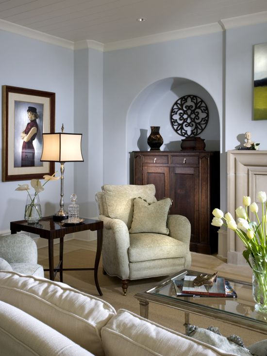 Sherwin Williams Topsail  Interiors By Color