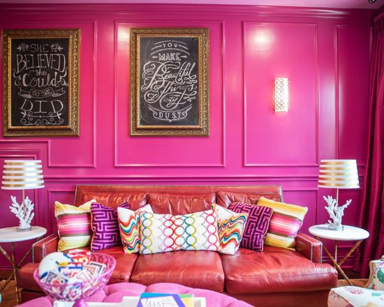 Over 100 Pink Interiors You Wont be Able to Take your