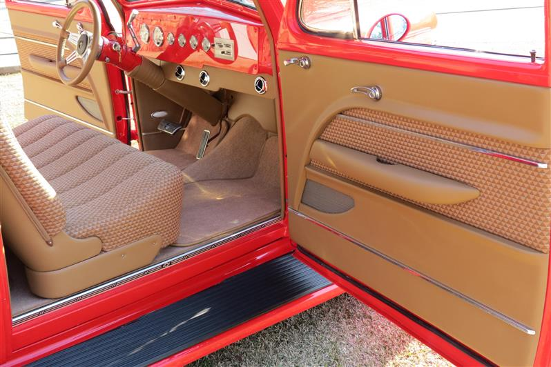 1939 Chevy Slantback Custom Leather Interior Interiors by Shannoncom Upholstery