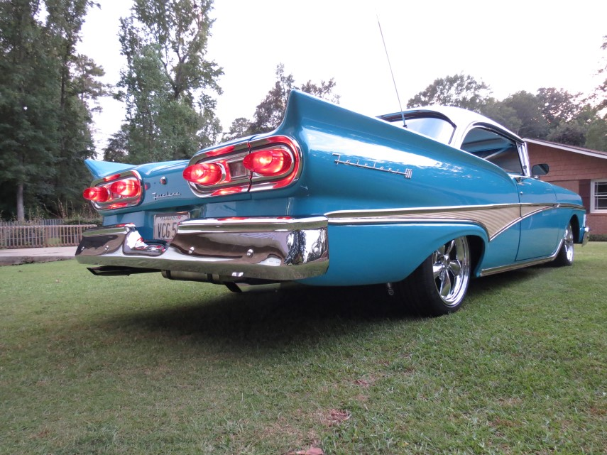 1958 Ford Fairlane Custom Leather Interior