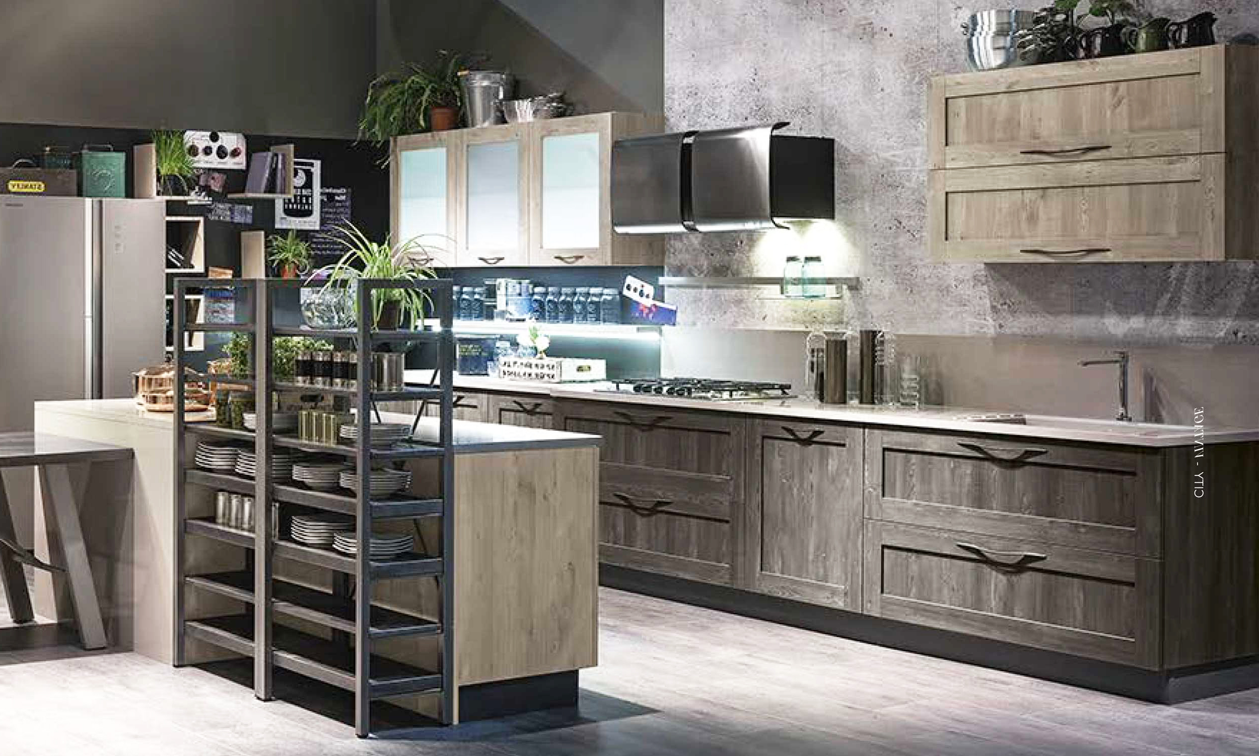 elegant with cucine stile industriale
