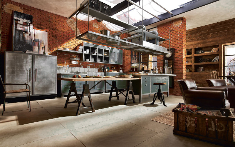 trendy cucine stile industriale with cucine stile industriale
