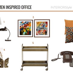 West Elm Crosby Chair Green Accent Chairs With Arms A Mad Men Inspired Office: Love The Look, Get Look - Interiorstyle By Kiki